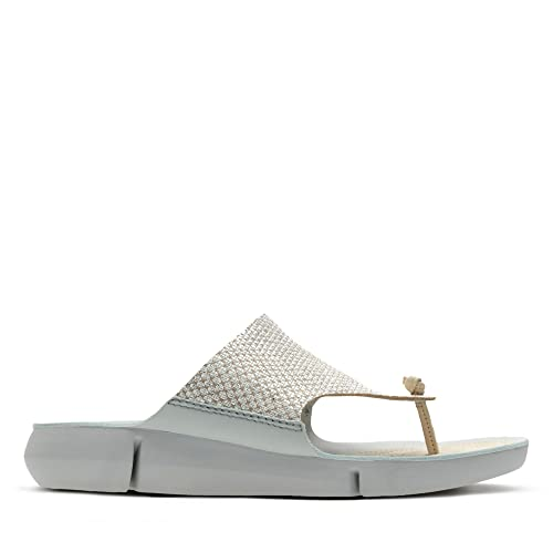 9e2f19c4bcee Clarks Tri Carmen Leather Sandals in Metallic Standard Fit Size 5   Amazon.co.uk  Shoes   Bags