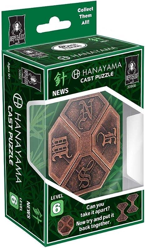 Universidad Juegos Hanayama Cast Puzzles, 11.93/X 7,62/X 4.44/cm