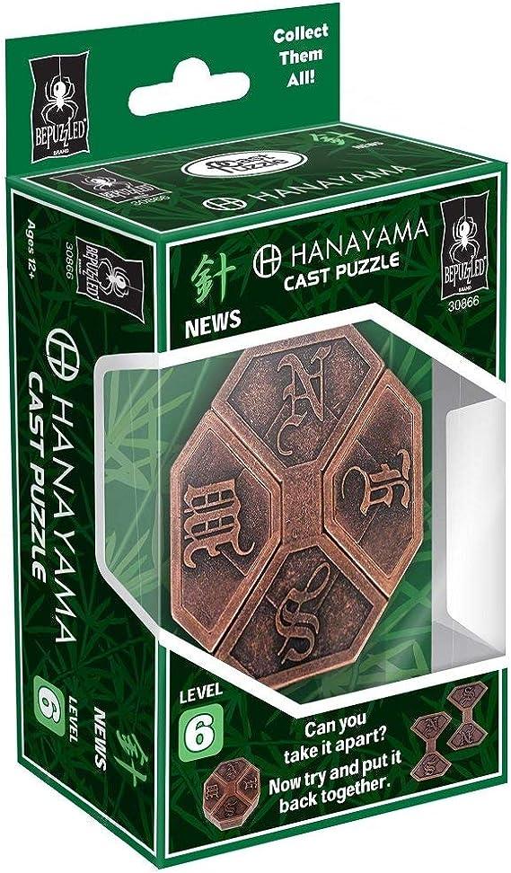 Details about  /BePuzzled UFO Hanayama Cast Metal Brain Teaser Puzzle Puzzles For Kids Level 4