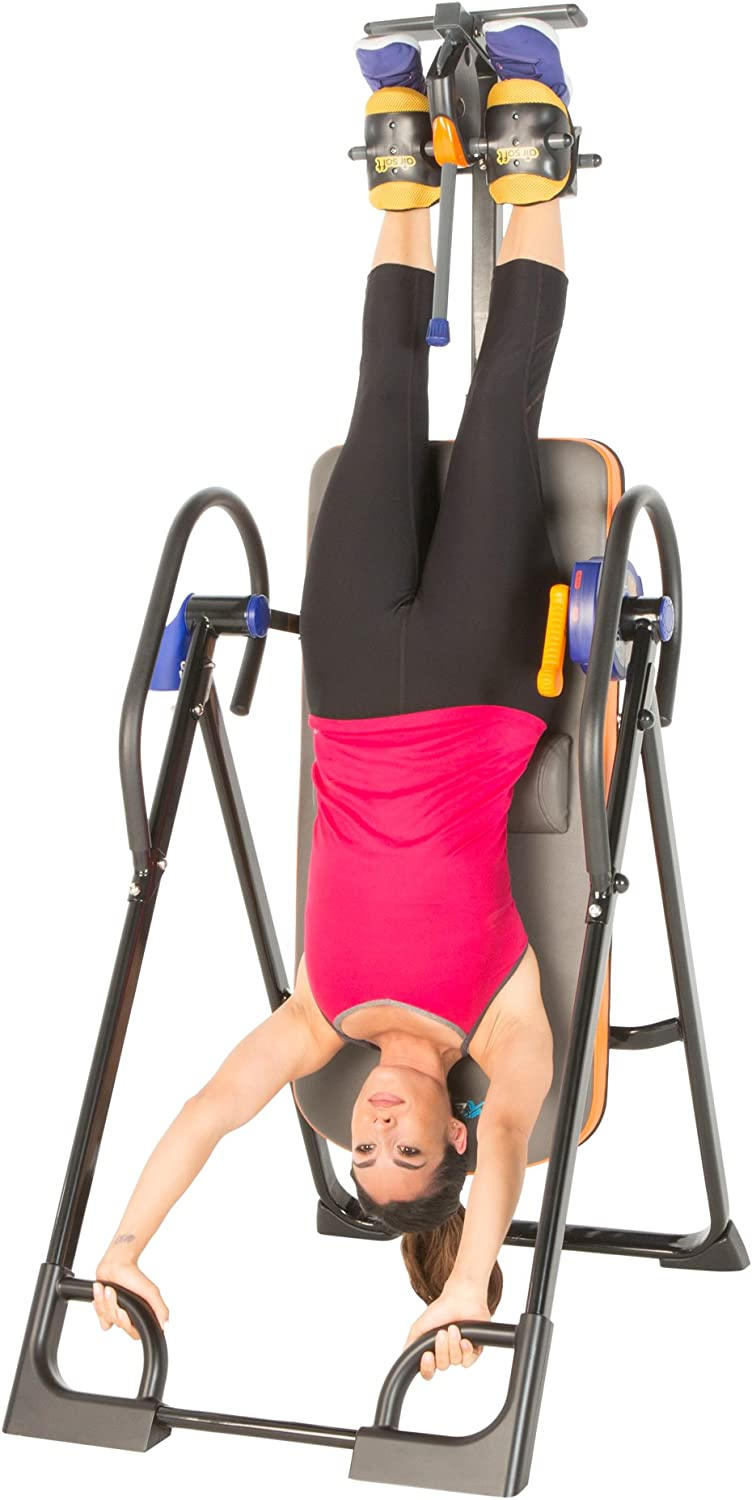 Exerpeutic 975SL All Inclusive Heavy Duty 350 lbs Capacity Inversion Table