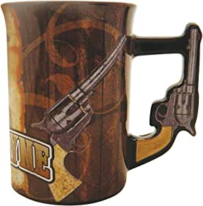 John Wayne Mug with Pistol Handle