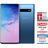 Samsung Galaxy S10 Dual Sim - 128GB, 8GB RAM, 4G LTE, Prism Blue, UAE Version