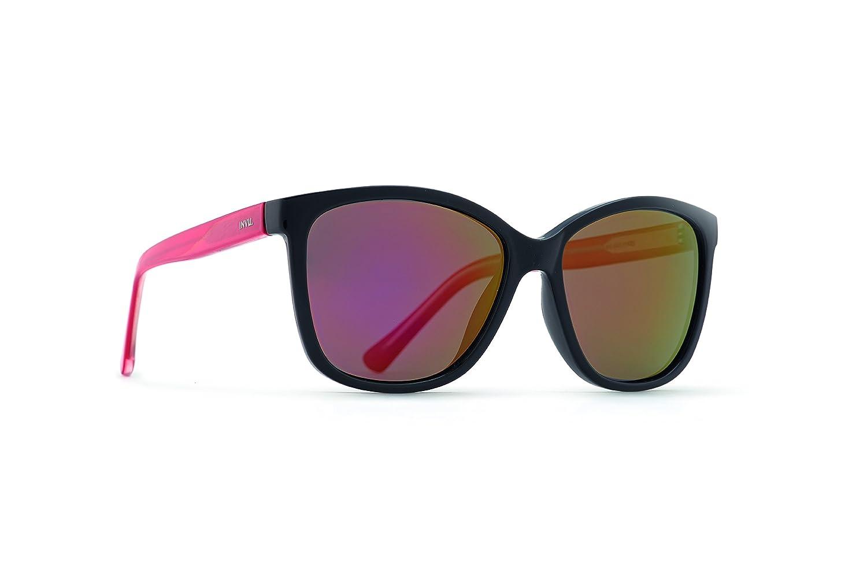 INVU Gafas de sol polarizadas t2517b negro/rojo transparente lente seductor roja 100% UV Block Sunglasses Polarized: Amazon.es: Deportes y aire libre