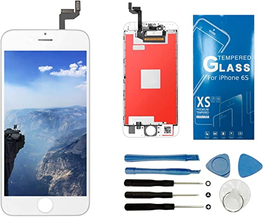 Comes with Tempered Glass Screen Protector and Free Tool Kits UNUS 3D in-Cell LCD Digitizer Replacement Kit for iPhone X