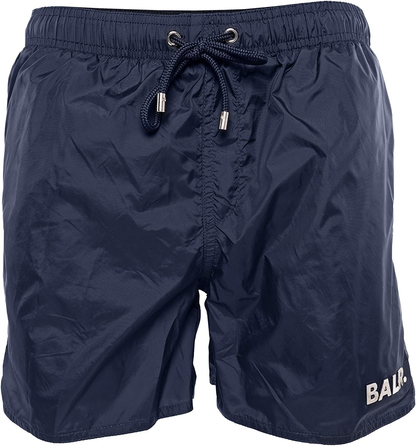 BALR. Classic Swim Shorts Athletic Fit with Quickdry Shell - Black