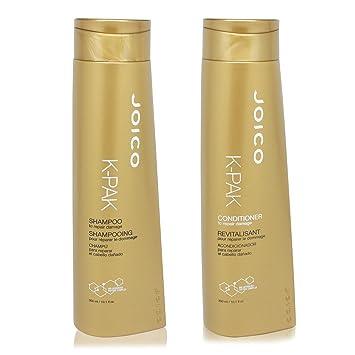 Joico K Pak Shampoo and Conditioner KIT for Repair Damage, Shampoo 10 1 oz,  Conditioner 10 1 oz