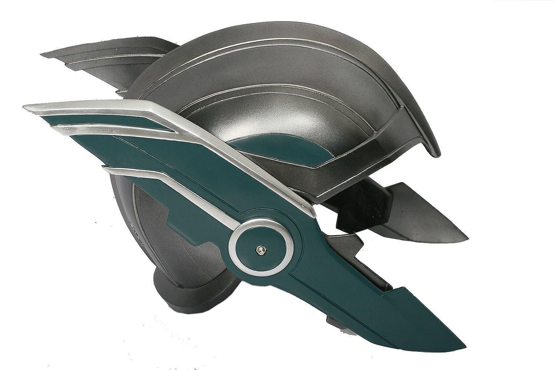 Xcoser Hela Headdress Helmet Mask Cosplay Costume Accessories for Women Halloween