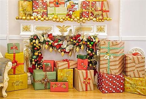 amazon com leyiyi 9x6ft merry christmas room decor backdrop gifts rh amazon com