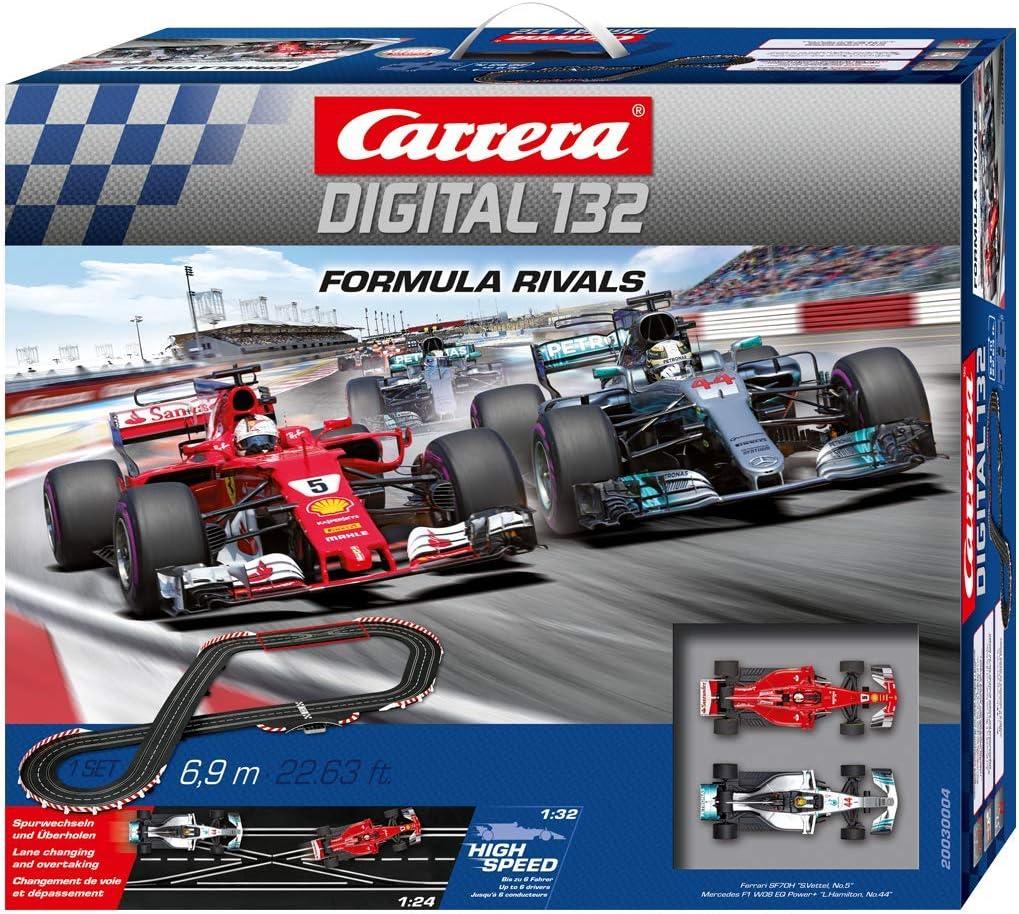 Carrera- Digital 132 Formula Rivals Juguete Circuito de Coches ...