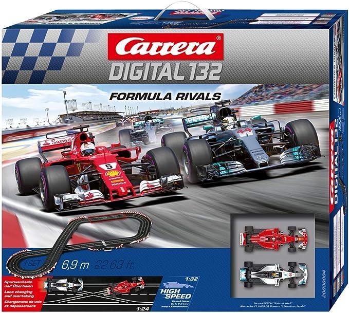 Carrera Digital 132 Formula Rivals 20030004 Car Racing Track Set Spielzeug
