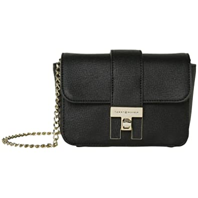 8ea5a022 TOMMY HILFIGER TH Heritage Mini Crossover Black: Amazon.co.uk: Shoes & Bags