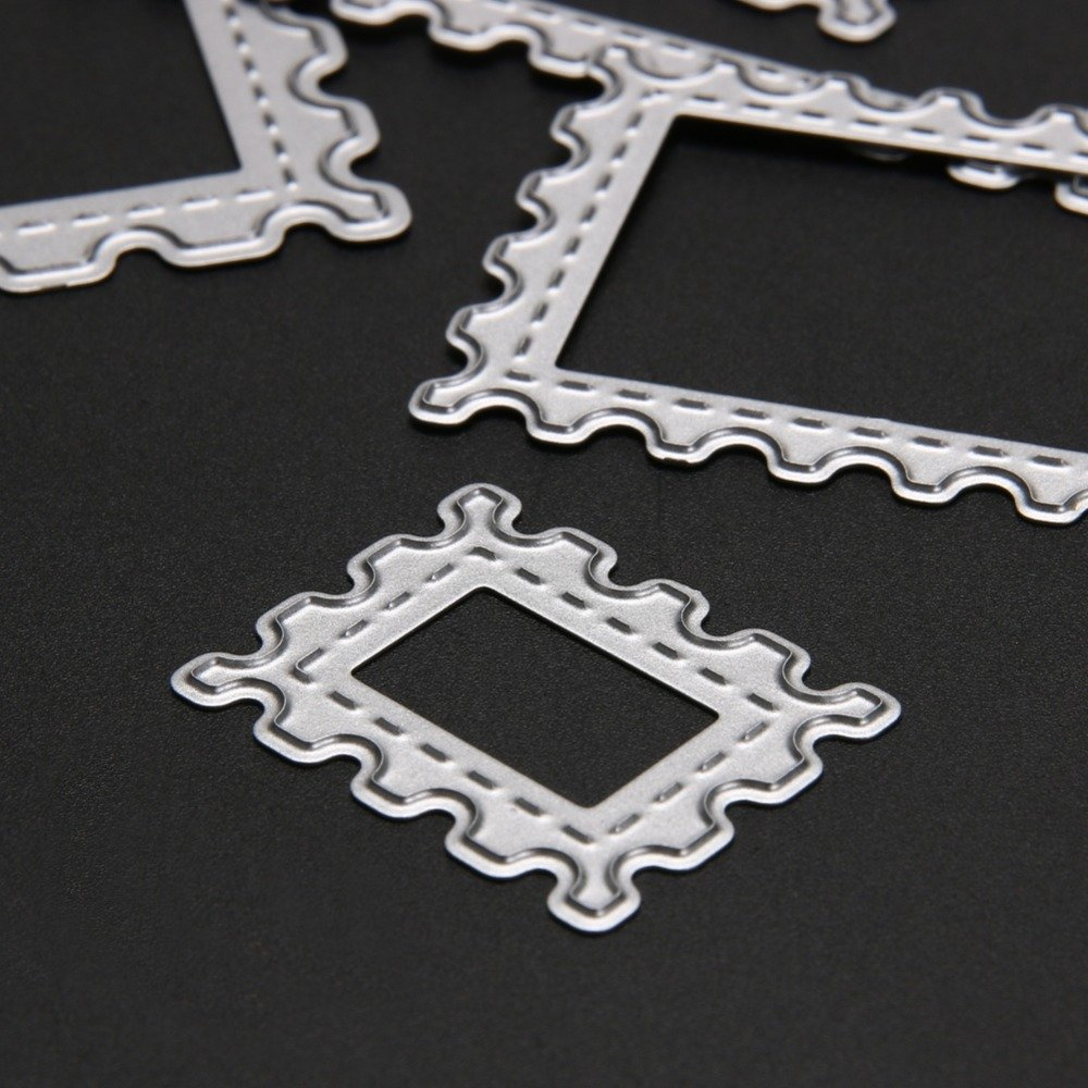 WYSE Cut Dies Triangle Craft Stencil for Card Making Scrapbooking Triangle