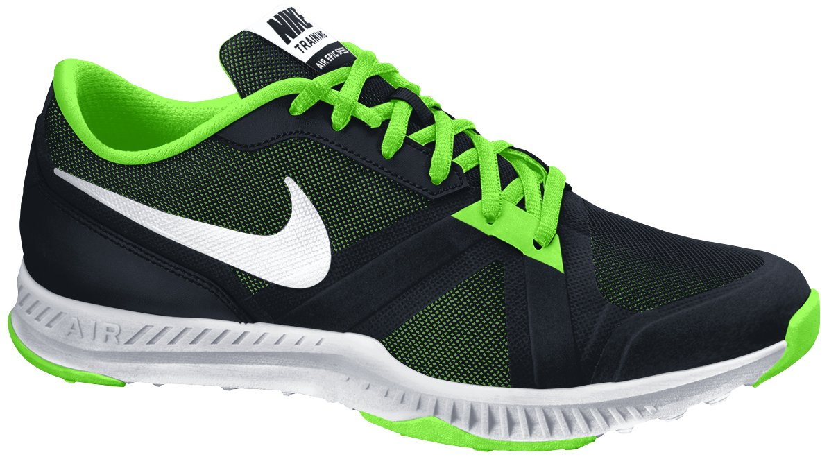 site réputé a63db 4d251 Nike Air Epic Speed TR Mens Running Trainers 819003 Sneakers Shoes (US 10,  Black White Voltage Green 003)