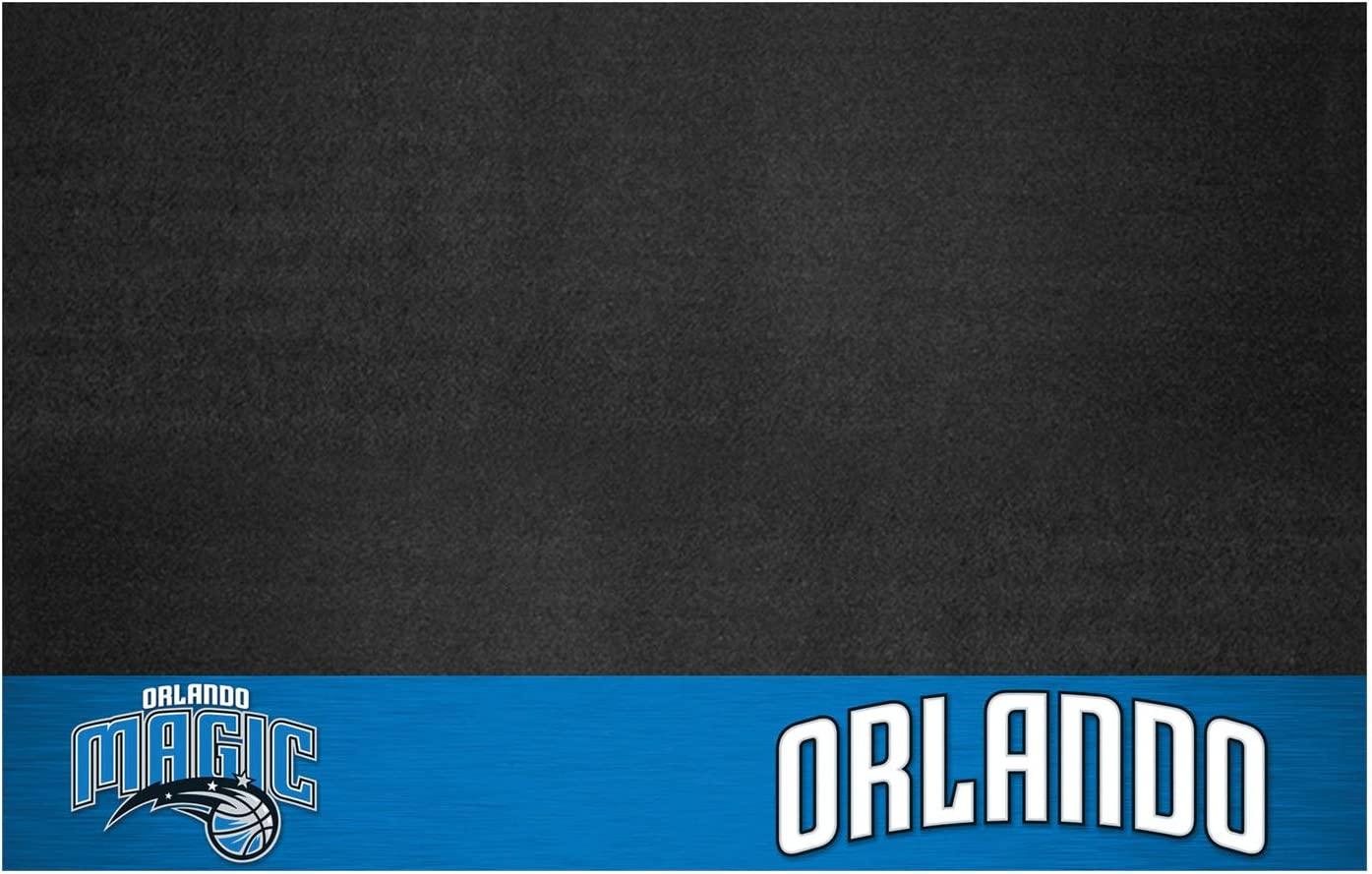 Small Fanmats NBA Orlando Magic Grill Mat