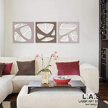 L:A:S Laser Art Style Quadro Astratto Moderno per Salotto ...
