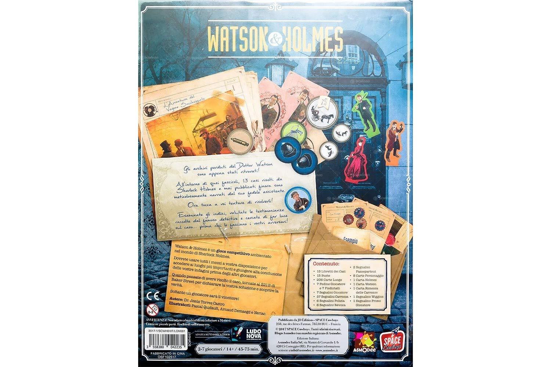 Asmodee Italia Watson & Holmes Juego de Mesa, Color Azul, scwh01it ...