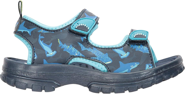 Calzado con Tira de tal/ón Desmontable Sandalias de Verano con Suela Resistente Zapatos con Forro de Neopreno Mountain Warehouse Sandalias Sand para ni/ño