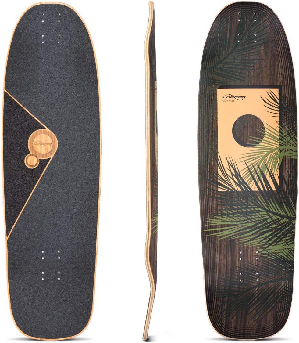 Loaded Boards Omakase Bamboo Longboard Skateboard Deck