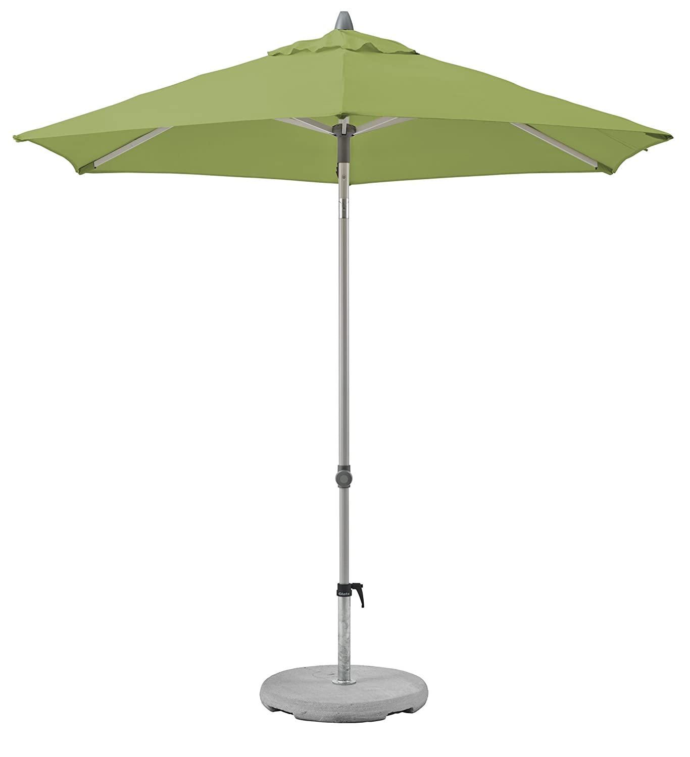 Suncomfort by by by Glatz Push up, off-Grau, 250 cm rund, Gestell Aluminium, Bespannung Polyester, 4.6 kg d7c8a9