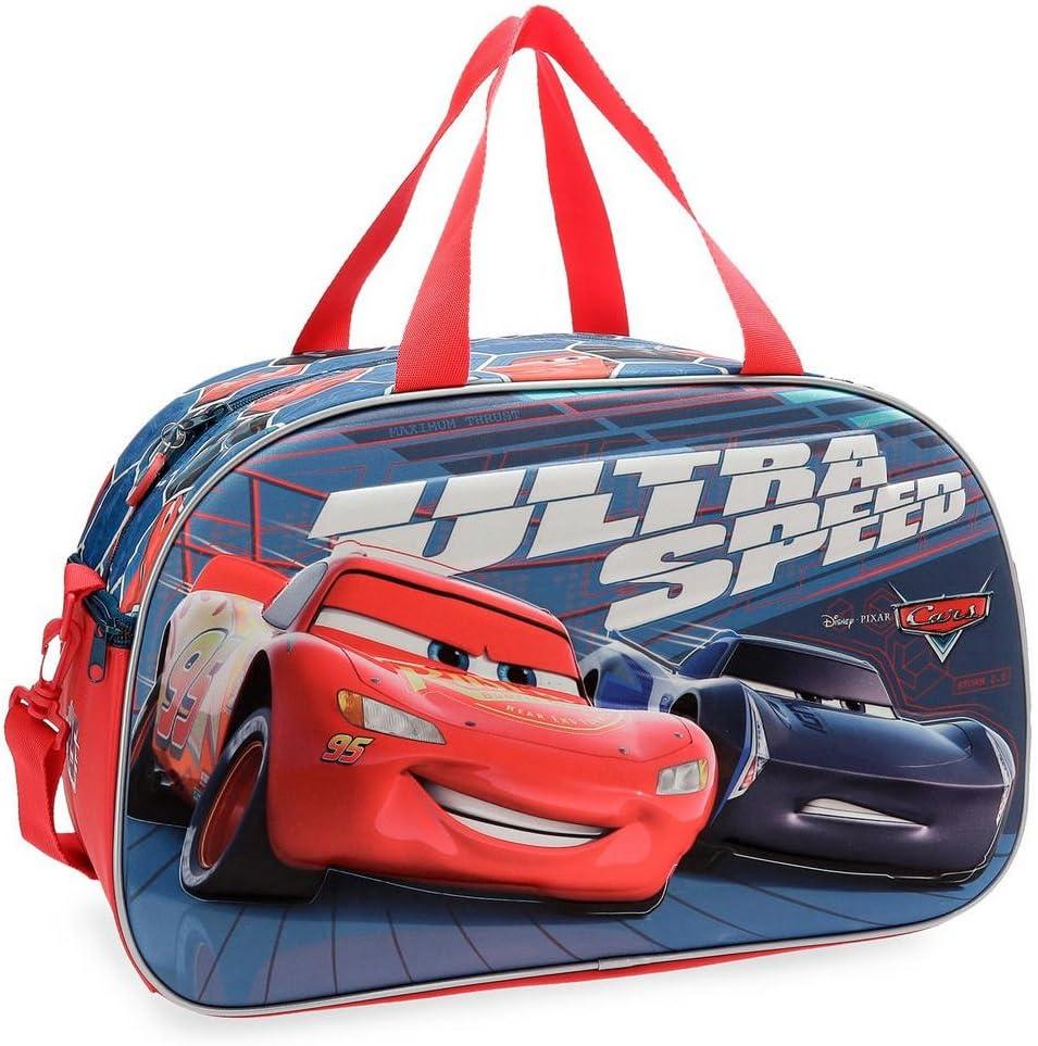 Bolsa de viaje Cars Ultra Speed 45cm frontal 3D