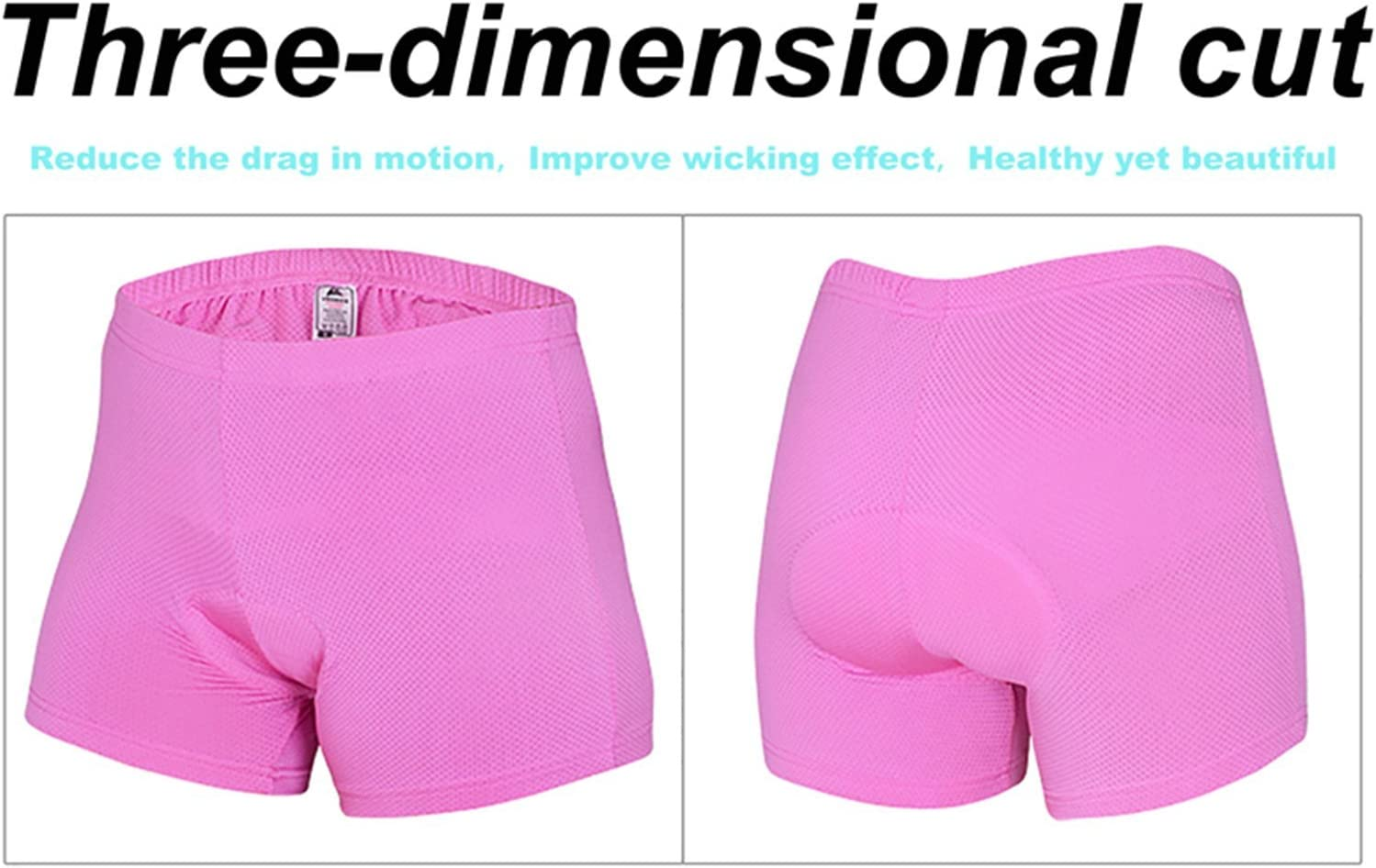 Women Cycling Shorts Bicycle Bike Underwear Pants With Sponge Silicone Padded