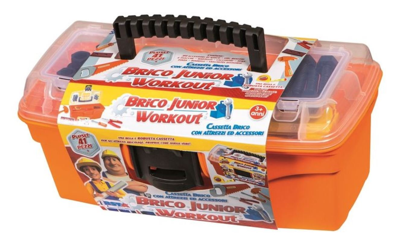 rstoys - Ronchi Supe - Caja Brico Junior con Herramientas, Multicolor, 3.st10087: Amazon.es: Juguetes y juegos