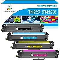 True Image Compatible Toner Cartridge Replacement for Brother TN227 TN-227 TN227BK TN223 TN-223BK HL-L3210CW HL-L3290CDW…