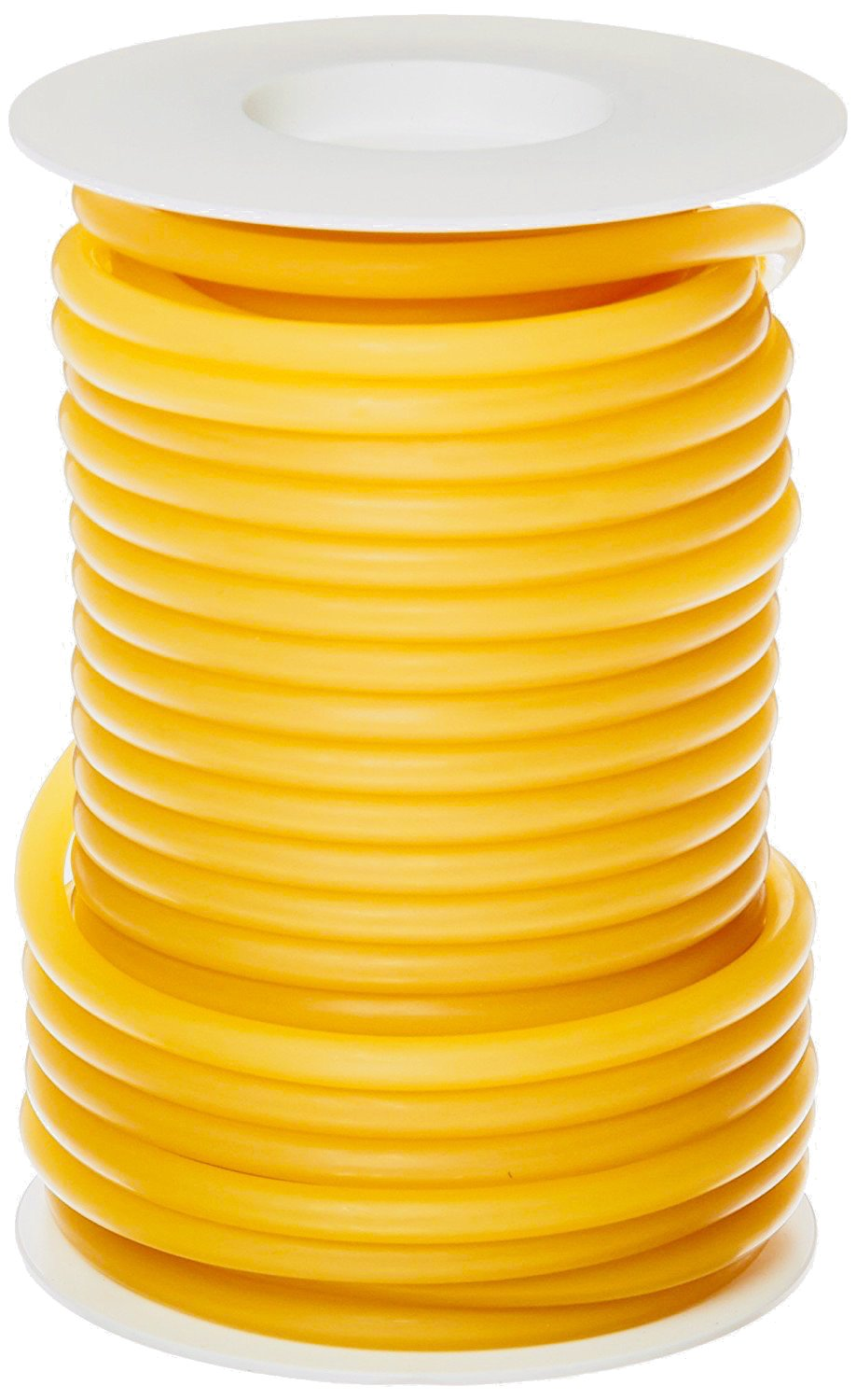 pivit Flexible Seamless Natural Latex Rubber Band Tubing | ¼ I.D, 3/8'' O.D, 1/16'' Wall Thickness | 50ft One Continuous Length | Extreme Flexibility Durability & Elastic Stretch Memory | Made in USA by pivit