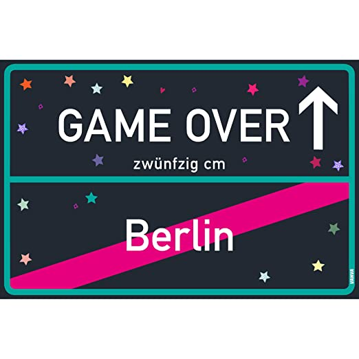 vanva Gameover Cartel Game Over Berlín Cartel Black Blue ...