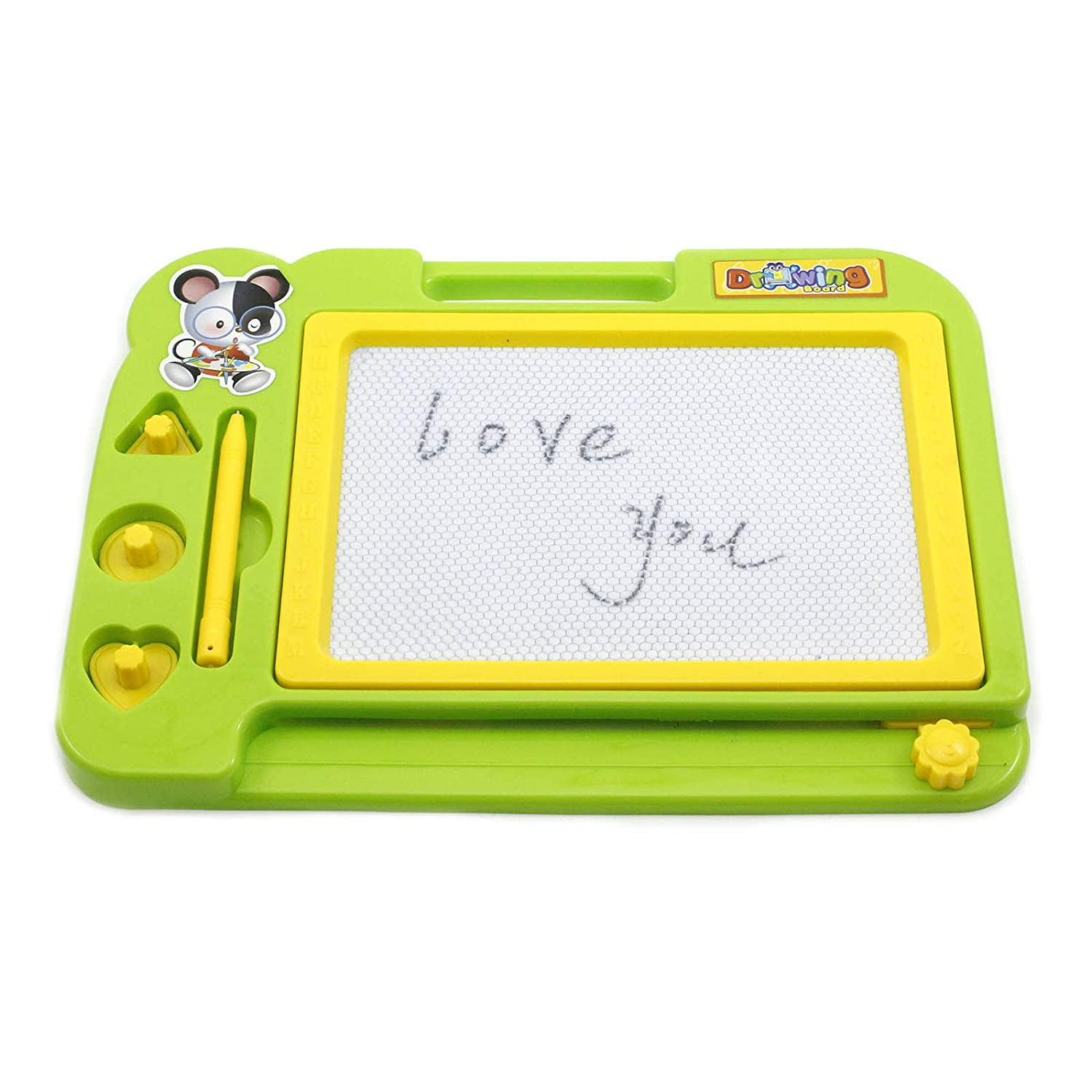 HuaYang Magnetic Educational Drawing Board Sketch Pad Doodle Writing Craft Art for Children Kids Random Color