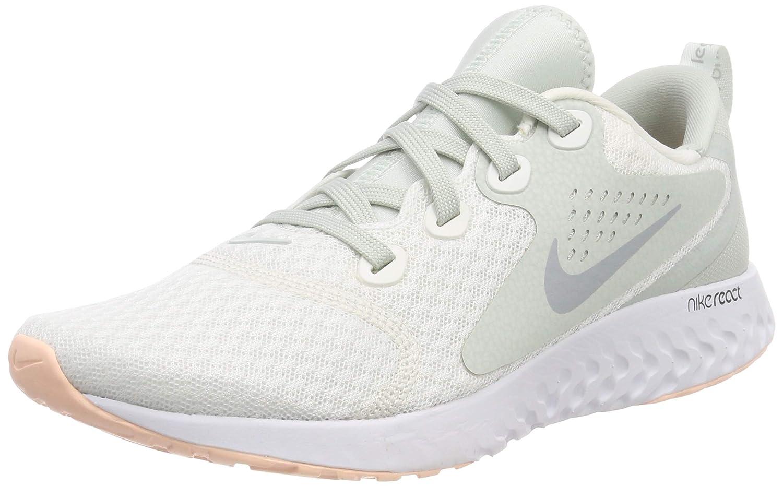 7b2ee5b7fd3 Nike Women s Legend React Running Shoes (Summit White Wolf Grey Light S  101)
