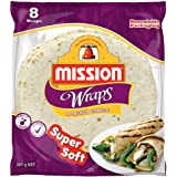 "Mission Foods 10"" Roasted Garlic 8 Wraps"
