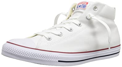 e23bef66f85cd1 Converse Men s Street Canvas Mid Top Sneaker Natural White