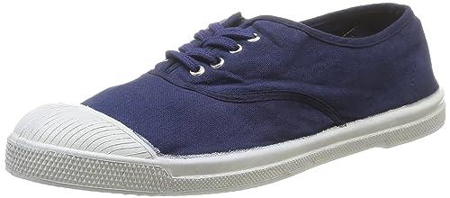 Bensimon Tennis - Zapatillas de deporte de canvas para hombre azul Bleu (Marine 516) 44 QM1ZHlze