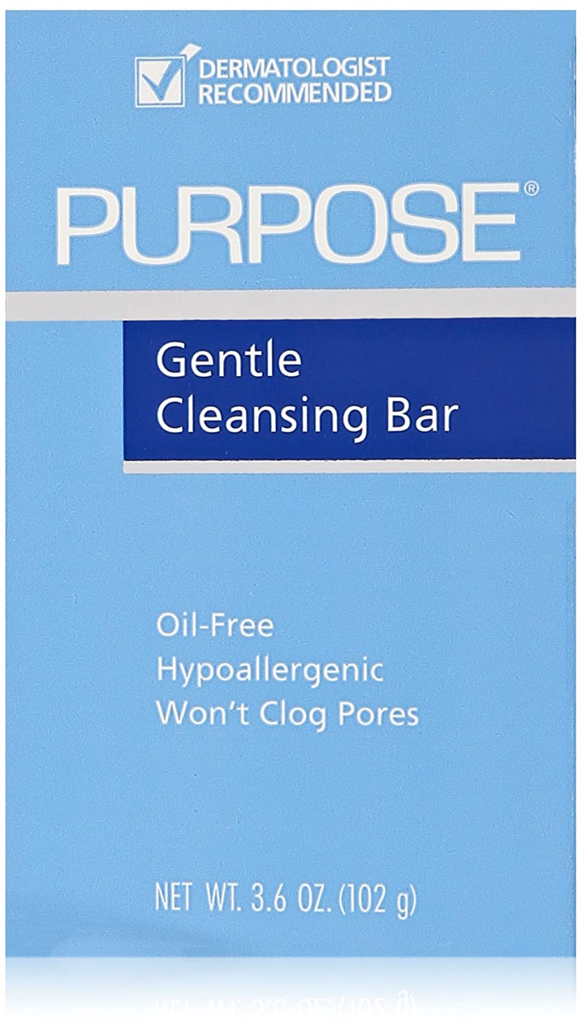 Purpose Gentle Cleansing Bar 3.6 Oz (6 Pack)