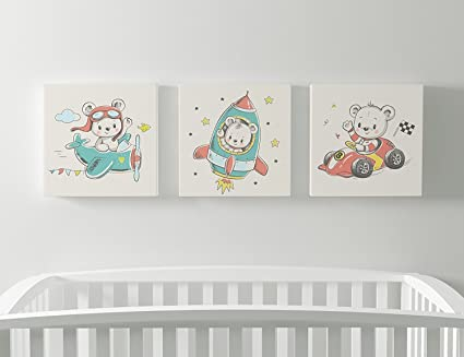 Amazon.com: Emin Decor Cute Little Teddy Bear And His Friends ...
