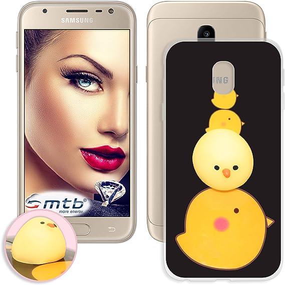 mtb More Energy® Funda TPU Squishy 3D para Samsung Galaxy J3 2017 (SM-J330, 5.0): Amazon.es: Electrónica
