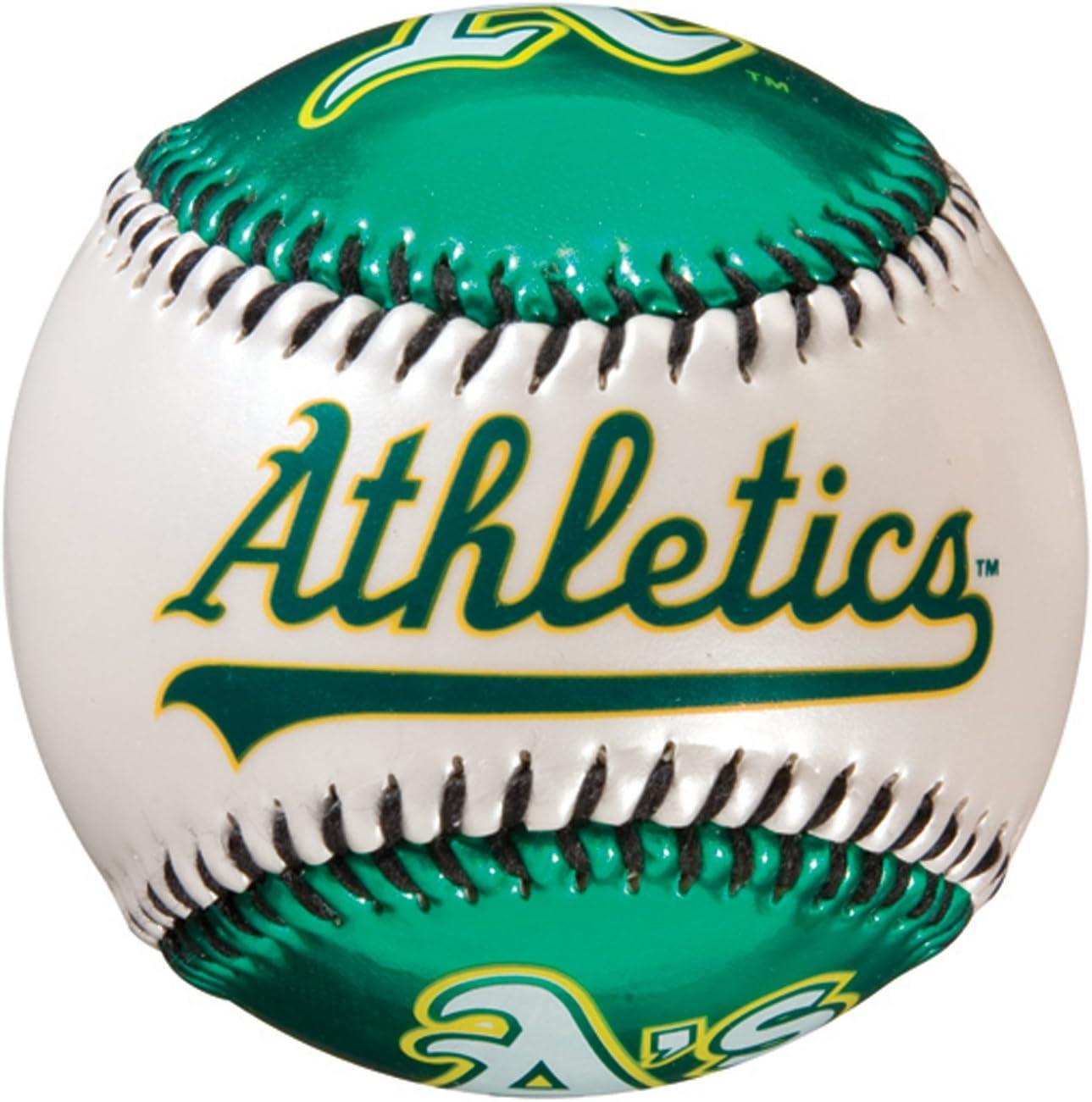 Franklin Sports MLB Team Baseball - MLB Team Logo Soft Baseballs - Toy Baseball for Kids - Great Decoration for Desks and Office
