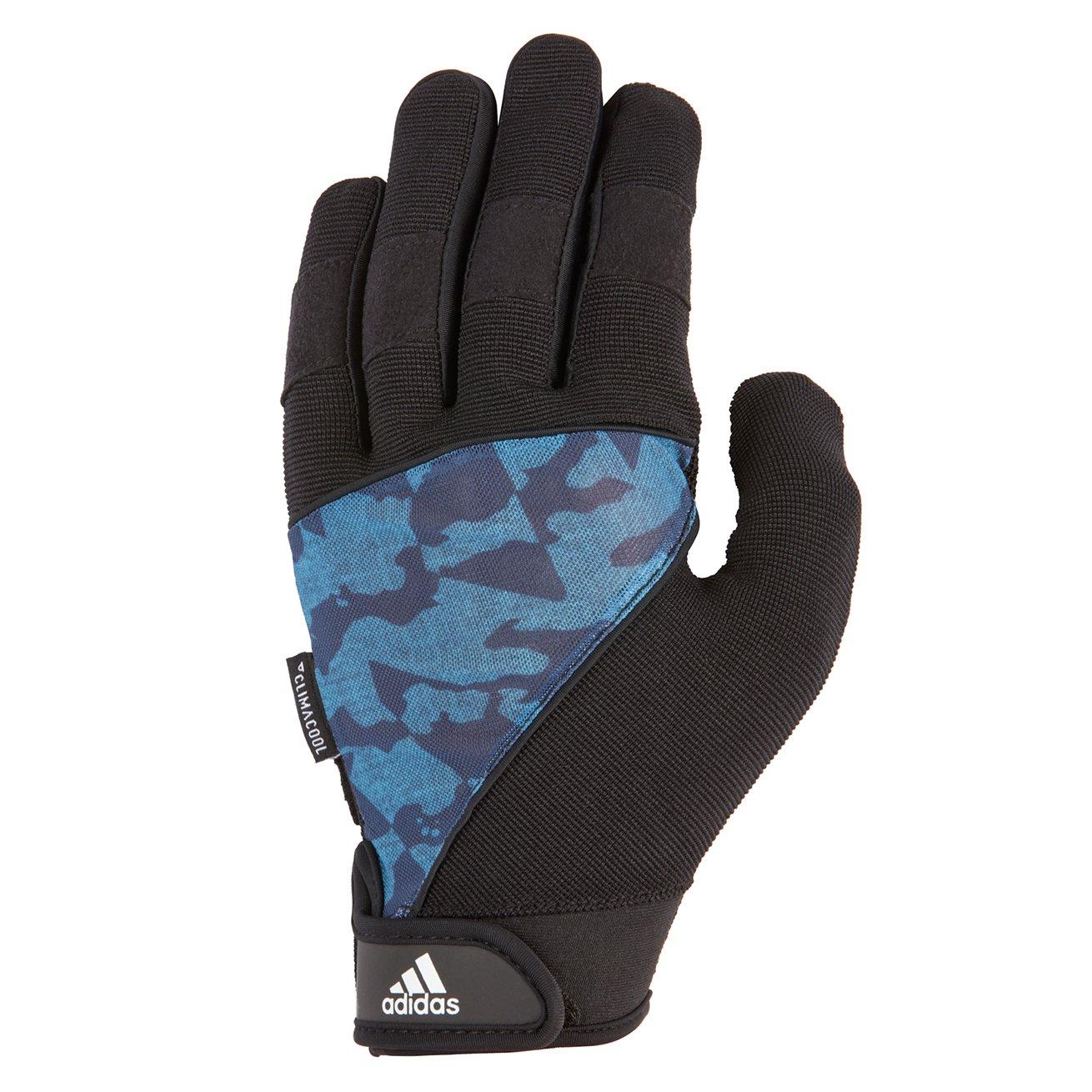 Adidas Full Fingerパフォーマンスグローブ – 迷彩、ミディアム B073JPCP3V