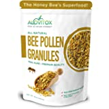 ALOVITOX Bee Pollen Granules | 100% Pure, Natural Raw Bee Pollen - Antioxidants, Proteins, Vitamins B6, B12, C and A…