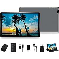 FACETEL Tablet 10 Pulgadas HD Android 10 Pro Tablet PC Octa-Core 1.6 GHz 4GB + 64GB (TF 128GB), Tableta con Teclado y…