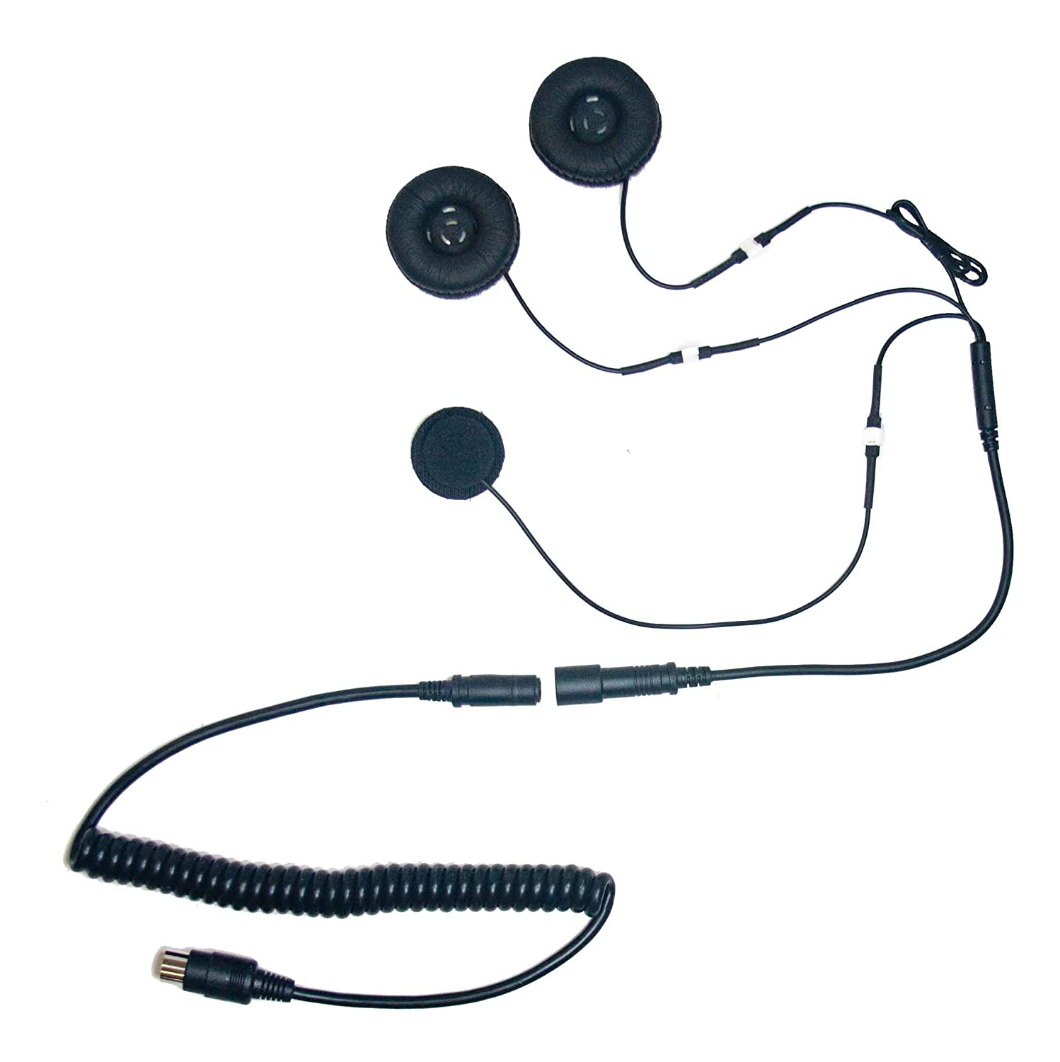 Hs G110p 5 Pin Stereo Headset With Soft Wire Microphone 2003 Honda Goldwing Wiring For Automotive