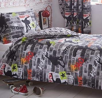 Copripiumino Singolo Ragazzo.Kidz Club Teenagers Single Bed Duvet Cover And Pillowcase Bedding