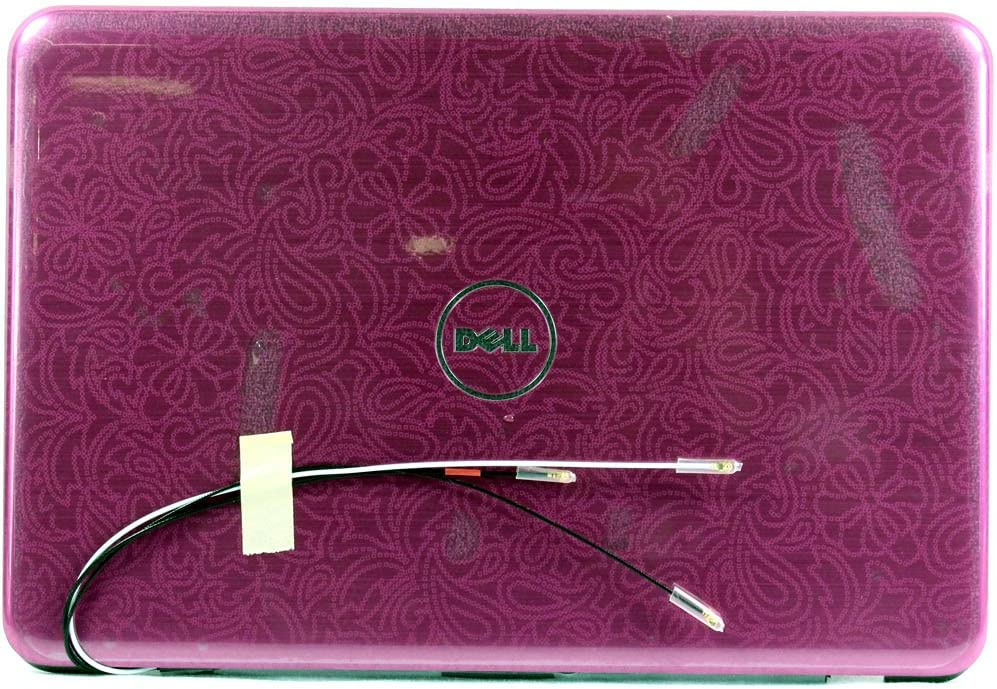 5VFWP - Purple Pattern - Dell Inspiron 1120 (M101z) / 1121 LCD Back Cover Lid - 5VFWP - Grade A
