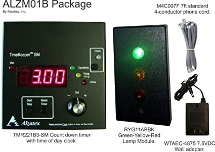 amazon com presentation timer with red yellow green stop lights