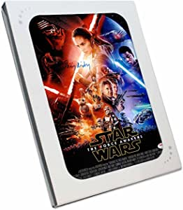 exclusivememorabilia.com Daisy Ridley despierta cártel (Rey) Firmado Star Wars The Force. En caja de regalo: Amazon.es: Deportes y aire libre