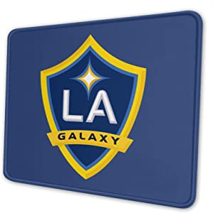 La Soccer Team Gal-Axy Mouse Pad for Office Notebook, Used for Wireless, Laser, Optical Computers 8.3x10.3 Inch