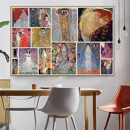 Zkkpainting Peinture à L Huile Mur Art Impressions Sur Toile
