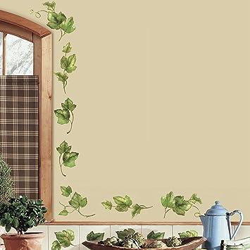 RoomMates RMK1219SCS Evergreen Ivy Peel u0026 Stick Wall Decals