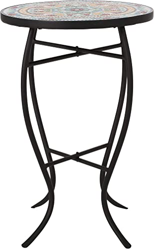 Sandinrayli 5-Pack Black Plastic Folding Chair Outdoor Patio Garden Wedding Party Event Furniture Chairs